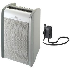 JVC 800MHz帯ポータブルワイヤレスアンプ(ダイバシティ)/CD付 PE-W51DCDB+WM-P980|yokoproshop