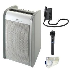 JVC 800MHz帯ポータブルワイヤレスアンプ(シングル) PE-W51SB-MX1+WT-U85X1+WM-P980X1|yokoproshop