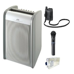 JVC 800MHz帯ポータブルワイヤレスアンプ(シングル) PE-W51SCDB-MX1+WT-U85X1+WM-P980X1|yokoproshop