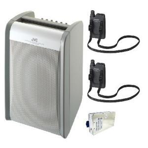 JVC 800MHz帯ポータブルワイヤレスアンプ(シングル) PE-W51SCDB+WT-U85X1+WM-P980X2|yokoproshop