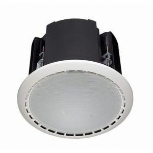 高天井用に高耐入力(最大160W)の定指向性ホーン型ツィーターを採用。天井裏に音漏れしにくい密閉型。...