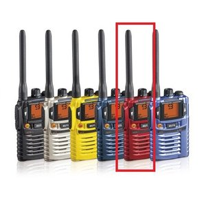 STANDARD HORIZON(八重洲無線) 特定小電力トランシーバー/レッド色(47ch/中継器対応 免許資格申請不要) SR70 yokoproshop