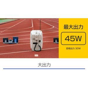 ユニペックス 防滴スーパーワイヤレスメガホンセット/チューナー内蔵 /代引不可/ TWB-300+WM-3400+ST-110|yokoproshop|04