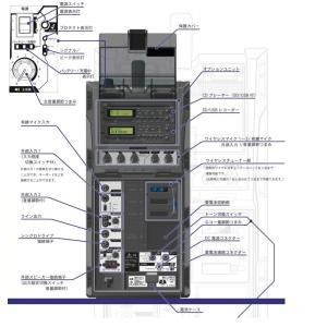 ユニペックス 300MHz帯防滴形ハイパワーワイヤレスアンプ/シングル  WA-371+WM-3400X2+SU-350|yokoproshop|02