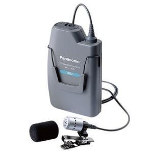 パナソニック 300MHz帯タイピン形ワイヤレスマイクロホンWX−1800|yokoproshop