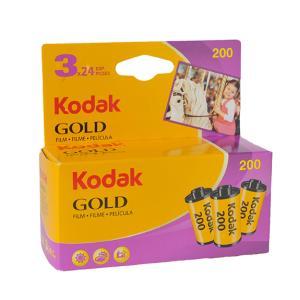 コダック GOLD(ゴールド)200 24枚撮り 3本パック kodak film フイルム フィルム|yokota-camera