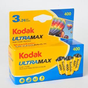 コダック ULTRA MAX(ウルトラマックス)400 24枚撮り 3本パック kodak film フイルム フィルム|yokota-camera