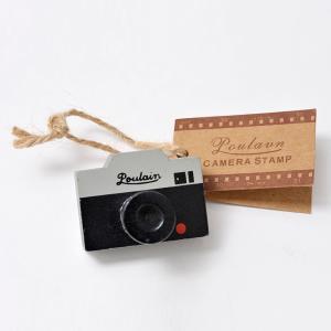 カメラ柄 スタンプ (一眼レフ型)|yokota-camera