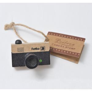 カメラ柄 スタンプ (レンジファインダー型)|yokota-camera