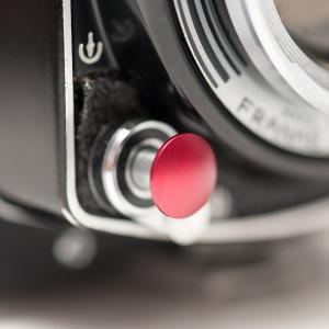 ソフトレリーズアダプター(レッド) 凹型 / 凸型 / 平型|yokota-camera