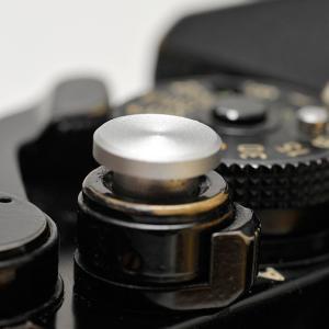 ソフトレリーズアダプター(シルバー) 凹型 / 凸型 / 平型|yokota-camera