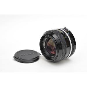 中古 Nikon / ニコン ニューニッコール 単焦点レンズ 50mm f1.4 (前期型) ニコンFマウント|yokota-camera