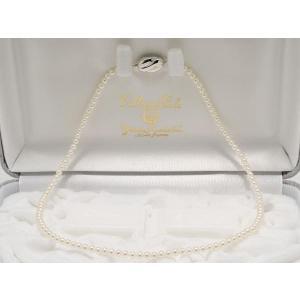 高品質あこや真珠ベビーパールネックレス3.5mm〜4.0mmネックレス(42cm) yokota-pearl