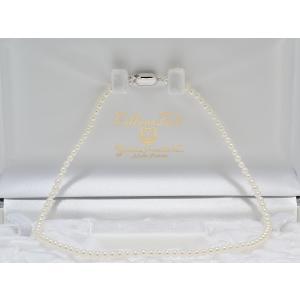 あこや真珠ベビーパールネックレス3.5mm〜4.0mmネックレス 39cm #1 yokota-pearl