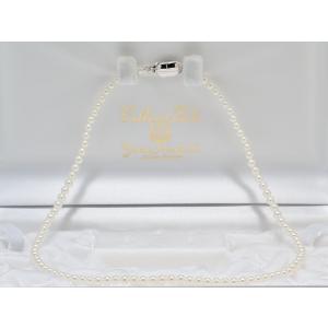 あこや真珠ベビーパールネックレス3.5mm〜4.0mmネックレス 39cm #2 yokota-pearl