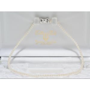 あこや真珠ベビーパールネックレス3.5mm〜4.0mmネックレス 39cm #3 yokota-pearl