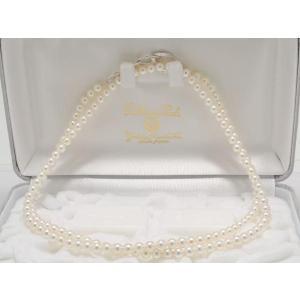 高品質あこや真珠ネックレス5.5mm〜6.0mm 80cmロング|yokota-pearl