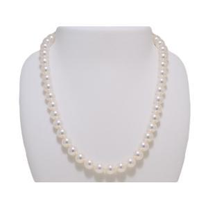 パールネックレス 8.5mm〜9.0mm あこや 真珠 ネックレス 花珠鑑別書取得可能グレード 冠婚葬祭 レディース|yokota-pearl