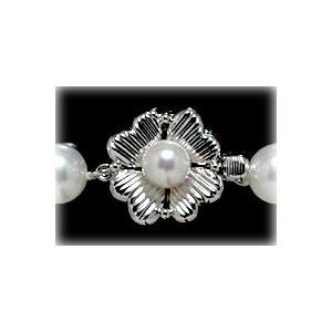 フォーマルネックレス用ホワイトゴールドクラスプ|yokota-pearl