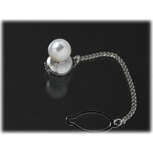 あこや真珠8.0mmタイタック(タイピン)|yokota-pearl
