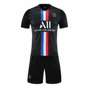 パリ・サンジェルマン  2019/2020年 アウェイ サッカーユニフォーム  子供用用 半袖 上下...