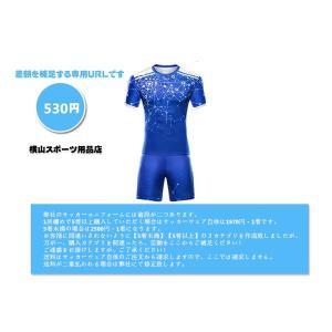 サッカーウェア差額・530円です(ポイント払い可能)...