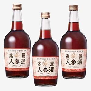 高麗人参酒3本セット(700ml×3本)|yomeishu-onlineshop