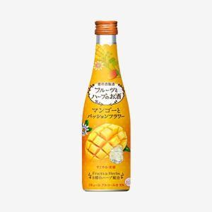 フルーツとハーブのお酒 マンゴーとパッションフラワー(300ml)|yomeishu-onlineshop