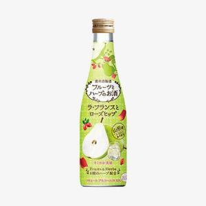 フルーツとハーブのお酒 ラ・フランスとローズヒップ(300ml)|yomeishu-onlineshop