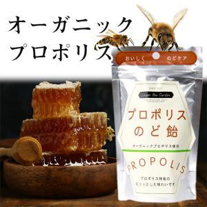 オーガニック プロポリス キャンディー のど飴 40g|yonekichi