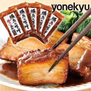 送料無料 豚肉の味噌煮込み 210g×6個 角煮 煮豚 セット 詰め合わせ お取り寄せグルメ ご飯のお供 豚肉 豚ばら肉 ブロック やわらか 柔らか ご馳走