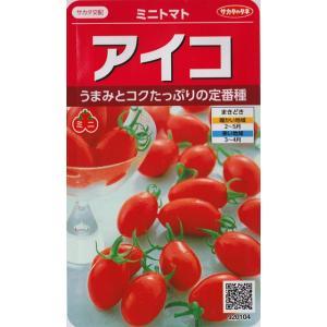 【ミニトマト】アイコ【サカタ交配】(17粒)野菜種[春まき]920104