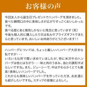 米沢牛 ハロウィン 2019 ギフト プレゼント 100% ハンバーグ 140g 6枚 冷凍便|yonezawagyu029|07