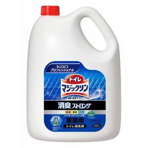 トイレマジックリン消臭・洗浄スプレー 消臭ストロング4.5L ×4|yoostore