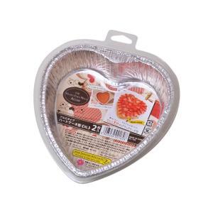 アルミタイプ ハートケーキ型<XL> 2枚入|yoostore