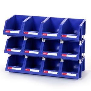 連結パーツボックス (大) ×12コ 倉庫や工場の余ったスペースを有効活用してキレイに整理!