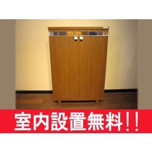 下駄箱 シューズボックス  プローブ 70ロー ブラウン色 /セミオーダー対応|yorokobi