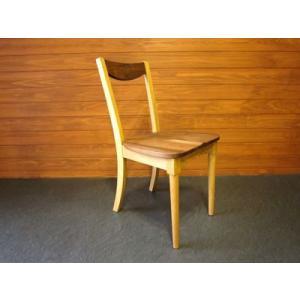 椅子 ダイニングチェア ミッドセンチュリー ウォールナット/オーク材|yorokobi