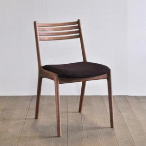 椅子 ダイニングチェア ラダー 肘無し ウォールナット材/ブラックチェリー材/メープル材|yorokobi