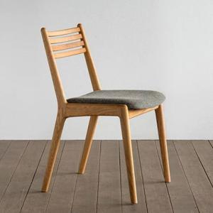 椅子 ダイニングチェア ラダー 肘無し オーク材|yorokobi