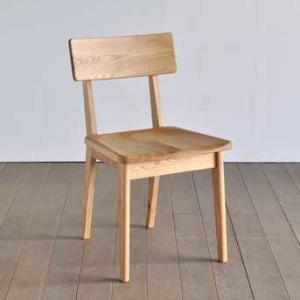 椅子 ダイニングチェア(板座) ピーエム オーク材/アルダー材|yorokobi