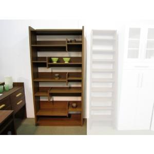 本棚 書棚 シェルフ ライド 90 ナチュラル色/ブラウン色|yorokobi