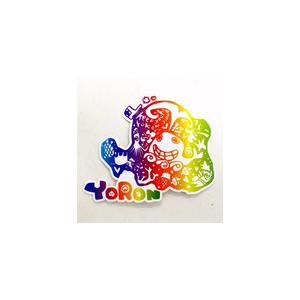 ヨロン島レインボーステッカー|yoron-hana