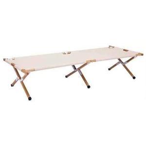 HangOut(ハングアウト) アペロ ウッド コット ベッド ベンチ 木製 帆布 コンパクト 持ち...