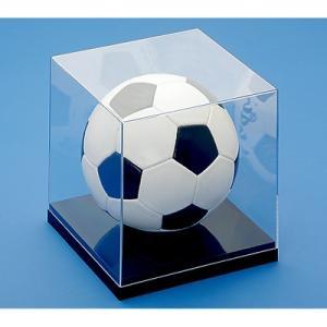 送料無料 蝶プラ工業 コレクションケース サッカーボール 展示ケース ディスプレイケース 保管ケース サインボール ウィニングボールの写真