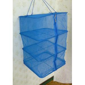 一夜干しかご3段 35cm×35cm 在庫処分 干しかご 一夜干し 干し網 魚干し 野菜干し 送料無料|yorozuh