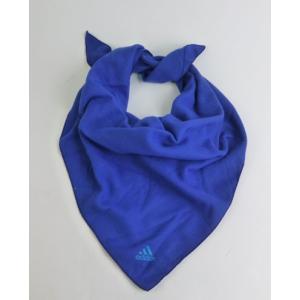 メール便送料無料 代引不可 三角スカーフ ブルー adidas アウトレットセール yorozuh