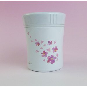 フードマグ270 さくら HB-2136 パール金属 フラワーガーデン スープ 味噌汁 ボトル ポット 送料無料|yorozuh