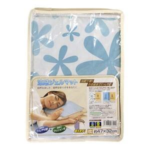 涼感ジェルマット 枕 フラワー U-R270 涼しい 安眠 冷たい 熱冷まし 送料無料|yorozuh