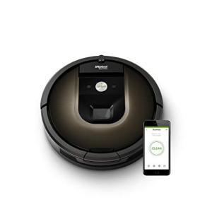 ルンバ980 アイロボット ロボット掃除機 Wi-Fi対応 マッピング 自動充電・自動再開 強い吸引...